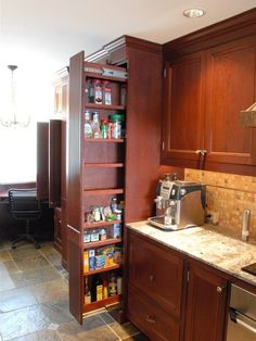 ALWAYS A GOOD FOR SAVVY STORAGE   Spaces Small Galley Kitchens Design, Pictures, Remodel, Decor and Ideas - page 3