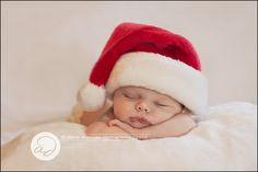 newborn photography | Christmas baby