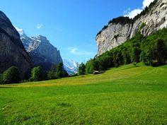 Green pastures of the Lauterbrunnen Valley Switzerland. You might also notice two waterfalls on the right side  . . #lauterbrunnen #greenpastures #pasture #valleyview #waterfallsfordays #switzerland #switzerland_vacations #swissnature #swissalps #igerscz #sceneryporn #landscapelover #landscapeporn #hikingtrails #hikingadventures #hikerslife #naturelovers #outdoorslife #wanderlusters #travellove #travelholic #gaytravel #gaytraveler #gaycation #gaylife #adventurelife #exploreswitzerland…
