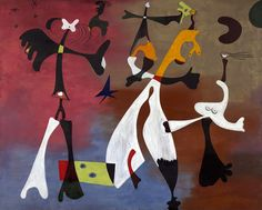 Joan Miró, Personages with Star, 1933 on ArtStack #joan-miro #art