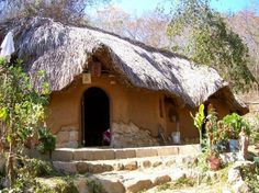 This house is all cob, built in 2005 in Zipolite, Mexico | My House of Earth