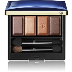 Clé de Peau Beauté Women's Eye Color Quad - N. 316 (74 AUD) ❤ liked on Polyvore featuring beauty products, makeup, eye makeup, eyeshadow, colorless and palette eyeshadow