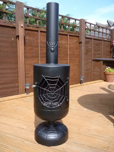 Spider chiminea I built.