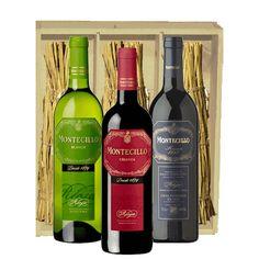 Trio Rioja Montecillo by www.kerstpakketten-voordeel.nl