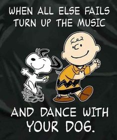 Charlie Brown and Snoopy. An awesome Quote to Live by! Snoopy Love, Charlie Brown And Snoopy, Snoopy And Woodstock, Charlie Brown Quotes, Charlie Brown Dance, Peanuts Quotes, Snoopy Quotes, The Words, Der Boxer