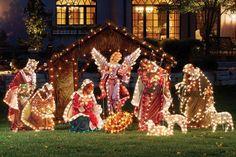 Christmas outside decorations pictures | Unique Christmas Yard Decorations | outdoortheme.com