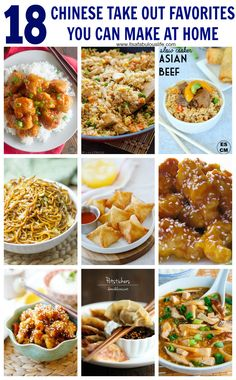 Top 10 chines food recipes comida china recetas chinas y comida 18 chinese recipes take out favorites you can make at home forumfinder Gallery