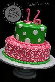 Cute  Tier Cakes For Teen Girls With Icing Roses