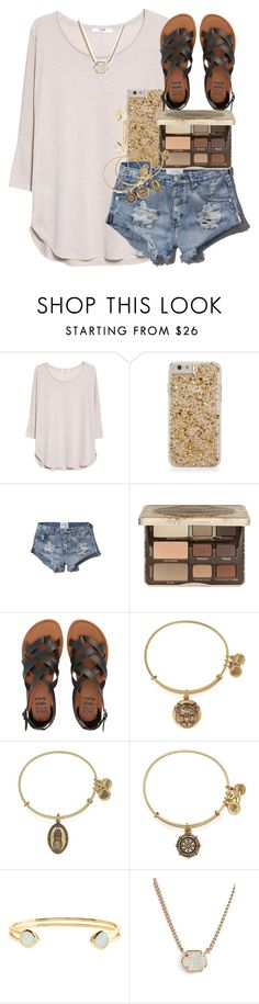 """you had me at the correct use of you're"" by thefashionbyem ❤ liked on Polyvore featuring MANGO, Abercrombie & Fitch, Too Faced Cosmetics, Billabong, Alex and Ani, Monsoon and Kendra Scott"