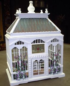 Image result for miniature dollhouse  birdcage