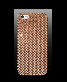 iPhone 5 5s Case Made With Swarovski Elements Crystals in Rose Gold 5s Cases  85c2baec73