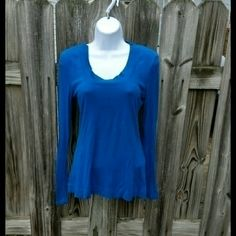 Target blue longsleeve tee Size medium, worn but great condition. Mossimo Tops Tees - Long Sleeve