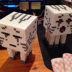 3D Minecraft hama beads by olmedo25109
