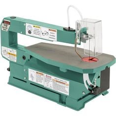 """Shop our G0536 - 16"""" Variable-Speed Scroll Saw at Grizzly.com"""