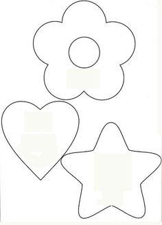 chaveiros de feltro moldes - Pesquisa Google