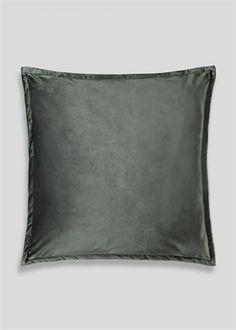 Large Velvet Cushion x – Matalan Matalan, Velvet Cushions, Soft Furnishings, Living Room Decor, Stuff To Buy, Bags, Accessories, House Beautiful, Autumnal