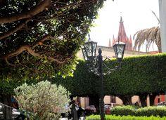 La Parroquia view from San Francisco cathedral, San Miguel de Allende, Mexico