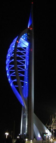 Spinnaker Tower, Portsmouth, England