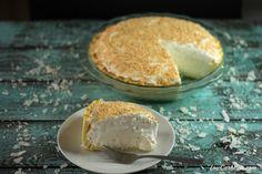 Sugar Free Coconut Cream Pie | Low Carb Yum