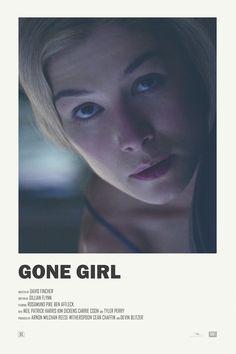 Gone Girl alternative movie poster Visit my Store