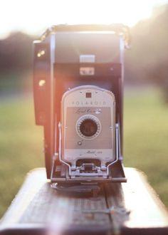 // Polaroid. Love old cameras