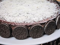 Cheescake de Nutella com bolacha Oreo