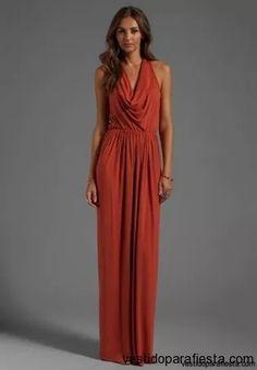 Elegantes y modernos vestidos largos de fiesta con escote en la espalda – 19