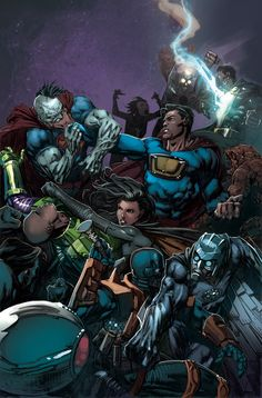 FOREVER EVIL #7 Written by GEOFF JOHNS Art by DAVID FINCH and RICHARD FRIEND Cover by DAVID FINCH 1:25 Robot Chicken variant 1:25 Variant co...