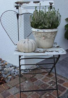 garten vintage Autumn Herbst Autumn More - Garden Art, Garden Design, Home And Garden, Deco Floral, Autumn Garden, French Decor, Outdoor Gardens, Fall Decor, Pergola