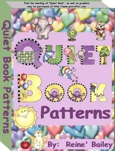 Quiet Book pattern PDF                                                                                                                                                                                 More