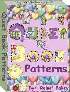 Quiet Book pattern PDF