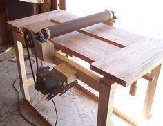My under $100 wide drum sander (a work in progress) - by Daren Nelson @ LumberJocks.com ~ woodworking community