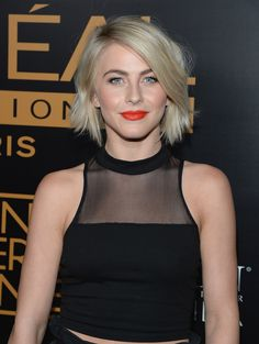 A slightly wavy bob with a liiiiittle bit of layering to lighten up the ends = the ideal way to ease into short hair for you longer-locked gals.   - MarieClaire.com