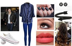 """Going to the Movie's with Harry"" by alexbomer on Polyvore"