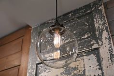 Clear Glass Globe Lighting - 10 Inch Welcome to Lucent Lampworks! My name is Brad Michael and I handcraft each of my fixtures right here in the USA. I aim to deliver top-quality products, and an experience rooted in hustle & service. Now, lets talk lighting! About This Light: •