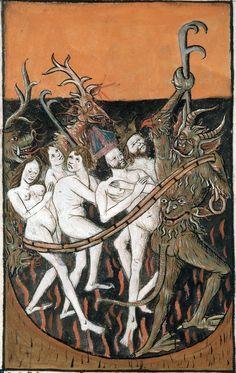 Speculum humanae salvationis, Francia, 1470-1480. http://iglesiadesatan.com/