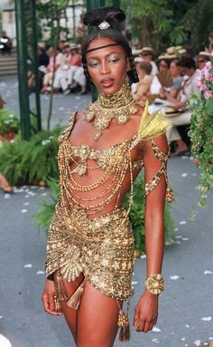 JOHN GALLIANO, acolorblue:   Naomi Campbell For Christian Dior +...