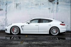 Porsche Panamera White with Copper Interior <3 CANT WAITTTTTTT !