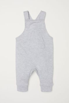 7833f6110961 Bib overalls in soft organic cotton sweatshirt fabric. Straps