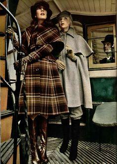 1970s Coat and Cape