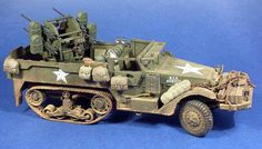 M16 Multiple Gun Motor Carriage Self-Propelled Anti-Aircraft Gun (USA)