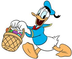 Donald Duck, Easter, March 2016
