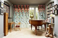 Amazing eclectic residence designed by Godrich Interiors located in London, United Kingdom