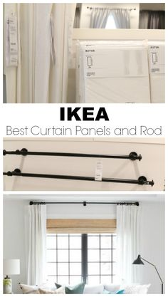 IKEA Favorite Finds- You need on your List! #ikeafavorites #ikeafinds #nestingwithgrace #curtainrods