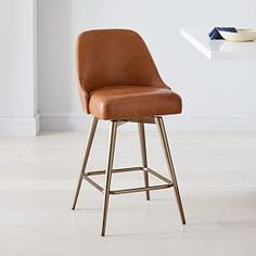 Lenox Counter Stool Leather Counter Stools, Kitchen Counter Stools, Swivel Counter Stools, Bar Counter, Leather Swivel Bar Stools, Leather Chairs, Kitchen Chairs, Swivel Chair, Leather Seats