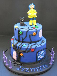 2 Birthday Cake, 11th Birthday, Birthday Parties, Carolines Cakes, Coraline Jones, Candy Shop, Love Cake, Cute Cakes, Cupcake Cookies