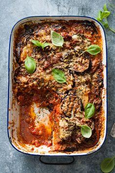 Vegetable Recipes, Vegetarian Recipes, Healthy Recipes, Ciabatta, Lasagna, Italian Recipes, Good Food, Food Porn, Beef