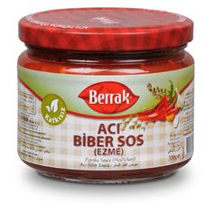 Berrak Acı Biber Sosu  370 ml