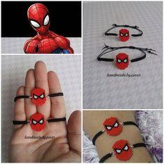 Minik prensim uyuyup kalınca modellik işi de bana kaldı  Duydum ki Spiderman seven iki adaş varmış, onları böyle mutlu etmek de bana düşer  .... .... #miyuki #miyukibracelet #spiderman #bileklik #kidsfashion #elemeği #handmade #miyukibileklik #bileklik #kids #hobimiseviyorum #myhobby #boncuk #boncukişi #jewelry #taki #aksesuar