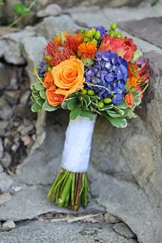 Late Summer Wedding - love the colors! | V&L Wedding Flowers ...